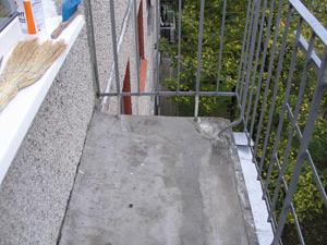 Полы на балконах и лоджиях